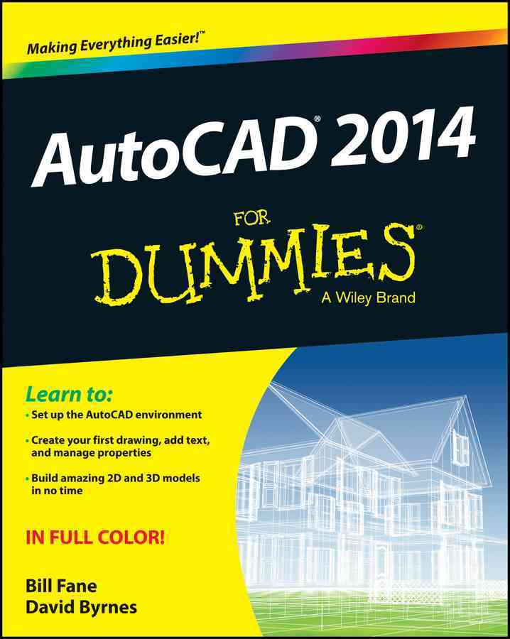 Autocad 2014 for Dummies By Fane, Bill